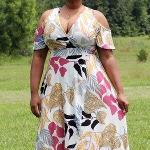 Tropical Punch Maxi Dress